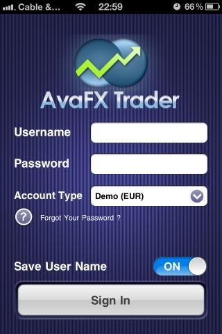 AvaFx Mobile Phone Forex Trading platform | Online Forex ...