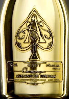 Armand De Brignac from Champagne Cattier