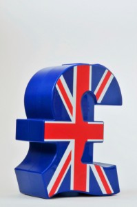 England, Sterling currency symbol