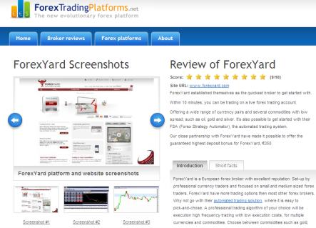 Best forex trading platform review