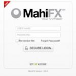 Mahi FX platform login - new live account