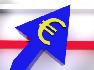 Euro is stronger